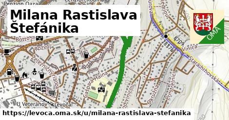 ilustračný obrázok k Milana Rastislava Štefánika, Levoča