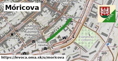 ilustračný obrázok k Móricova, Levoča