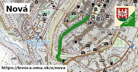ilustračný obrázok k Nová, Levoča