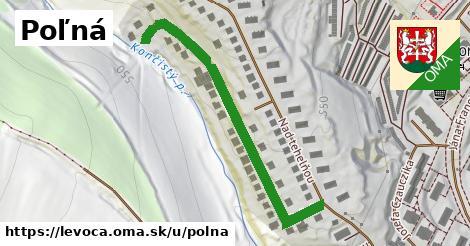 ilustrácia k Poľná, Levoča - 554m