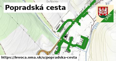 ilustrácia k Popradská cesta, Levoča - 3,0km