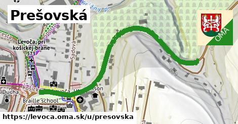 ilustrácia k Prešovská, Levoča - 648m