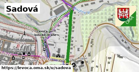 ilustrácia k Sadová, Levoča - 296m