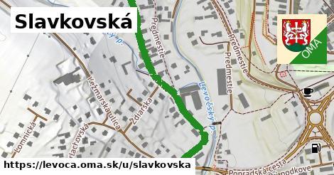 ilustrácia k Slavkovská, Levoča - 518m