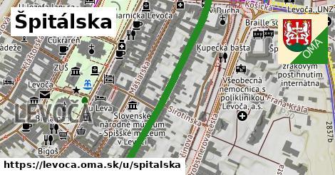 ilustrácia k Špitálska, Levoča - 422m