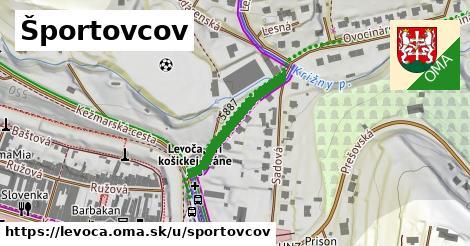 ilustračný obrázok k Športovcov, Levoča