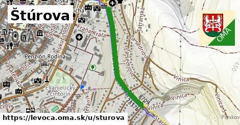 ilustrácia k Štúrova, Levoča - 677m