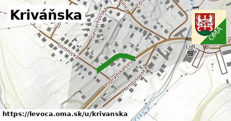 ilustrácia k Kriváňska, Levoča - 138m