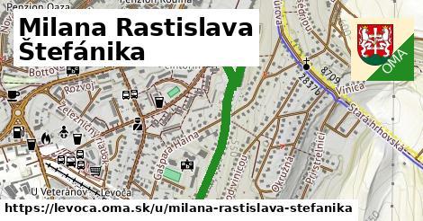 ilustrácia k Milana Rastislava Štefánika, Levoča - 1,05km