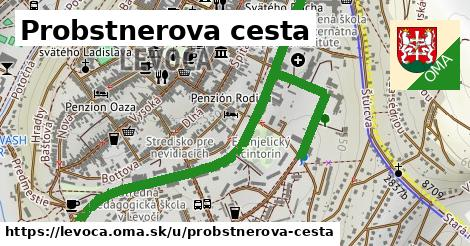 ilustrácia k Probstnerova cesta, Levoča - 1,53km