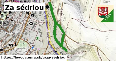 Za sedriou, Levoča