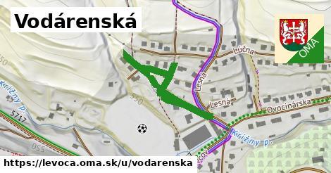 ilustrácia k Vodárenská, Levoča - 492m