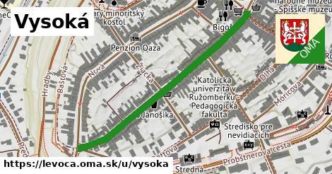 ilustrácia k Vysoká, Levoča - 494m