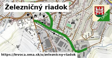 ilustračný obrázok k Železničný riadok, Levoča