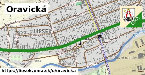 ilustrácia k Oravická, Liesek - 2,6km