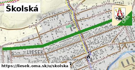 ilustrácia k Školská, Liesek - 1,47km