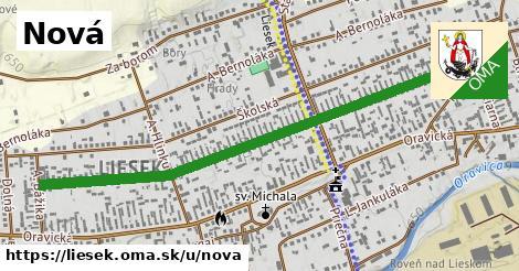 ilustrácia k Nová, Liesek - 1,30km