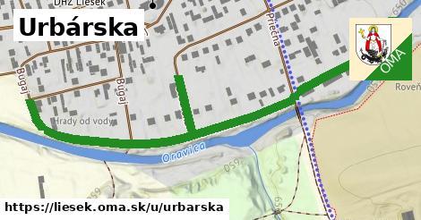 ilustrácia k Urbárska, Liesek - 0,72km