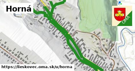 ilustrácia k Horná, Lieskovec - 1,15km