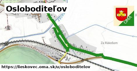 ilustrácia k Osloboditeľov, Lieskovec - 2,3km