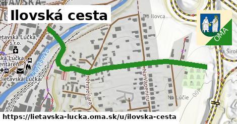 ilustrácia k Ilovská cesta, Lietavská Lúčka - 606m
