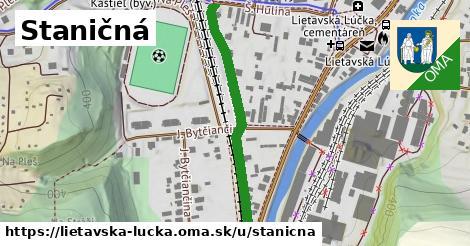 ilustrácia k Staničná, Lietavská Lúčka - 398m