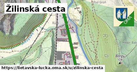 ilustrácia k Žilinská cesta, Lietavská Lúčka - 664m