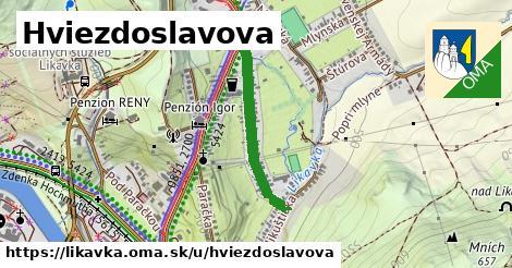 ilustrácia k Hviezdoslavova, Likavka - 504m