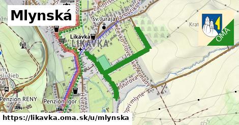 ilustračný obrázok k Mlynská, Likavka