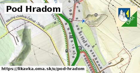 ilustračný obrázok k Pod Hradom, Likavka