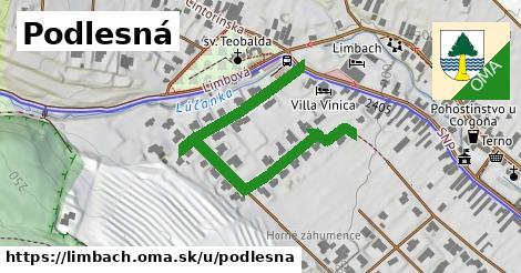 ilustrácia k Podlesná, Limbach - 217m