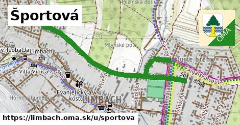 ilustrácia k Športová, Limbach - 1,23km