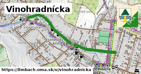 ilustrácia k Vinohradnícka, Limbach - 1,03km