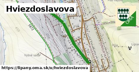 ilustrácia k Hviezdoslavova, Lipany - 0,71km