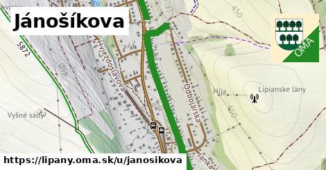 Jánošíkova, Lipany
