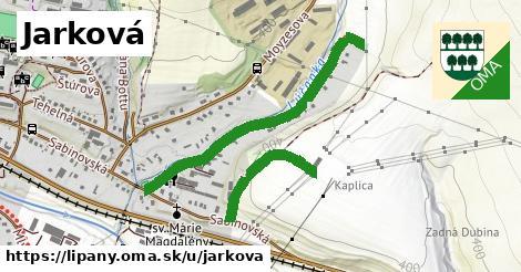 Jarková, Lipany