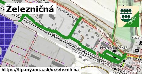 ilustrácia k Železničná, Lipany - 0,92km