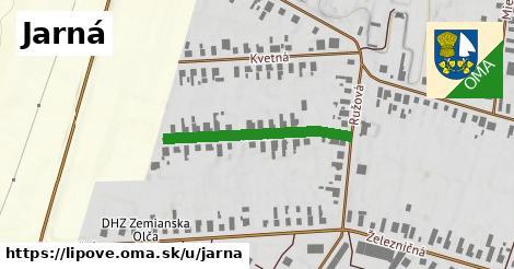 ilustrácia k Jarná, Lipové - 279m
