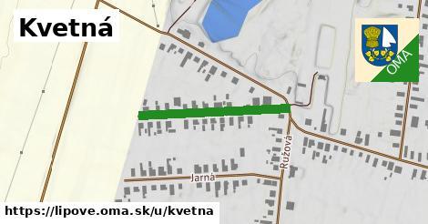 ilustrácia k Kvetná, Lipové - 268m