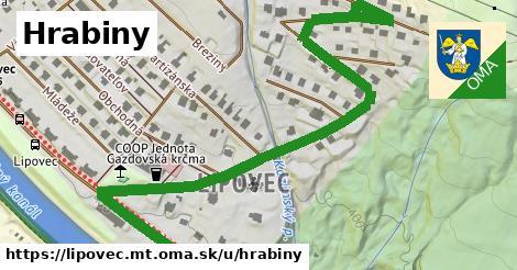 ilustrácia k Hrabiny, Lipovec, okres MT - 0,78km