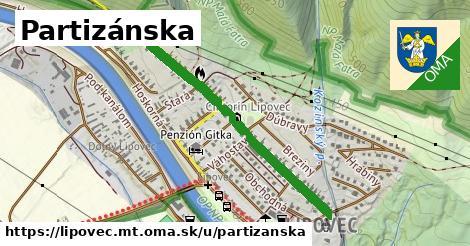 ilustrácia k Partizánska, Lipovec, okres MT - 0,83km