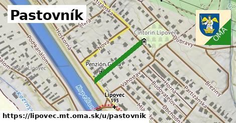 ilustrácia k Pastovník, Lipovec, okres MT - 384m