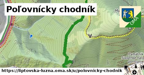 ilustrácia k Poľovnícky chodník, Liptovská Lúžna - 1,08km