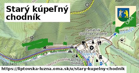 ilustrácia k Starý kúpeľný chodník, Liptovská Lúžna - 1,73km