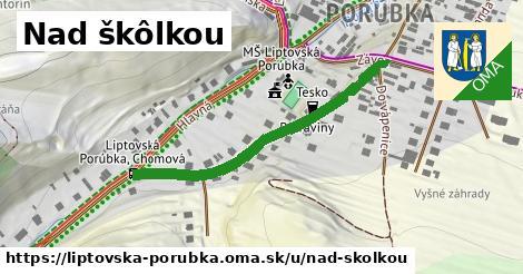 ilustrácia k Nad škôlkou, Liptovská Porúbka - 407m