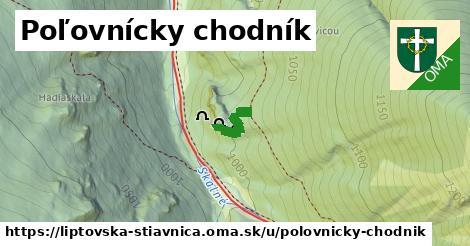 ilustrácia k Poľovnícky chodník, Liptovská Štiavnica - 1,97km