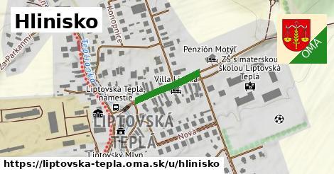 ilustrácia k Hlinisko, Liptovská Teplá - 156m