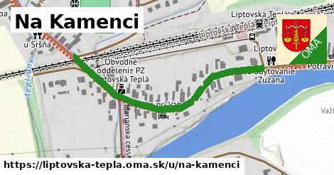 ilustrácia k Na Kamenci, Liptovská Teplá - 496m