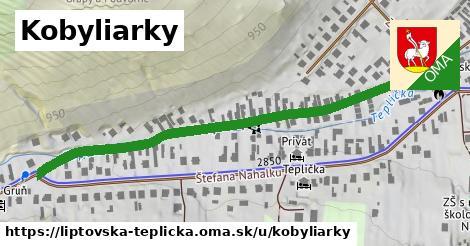 ilustrácia k Kobyliarky, Liptovská Teplička - 654m