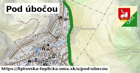 ilustrácia k Pod úbočou, Liptovská Teplička - 0,80km